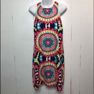 Annie Griffin Kaleidoscope Mini Dress